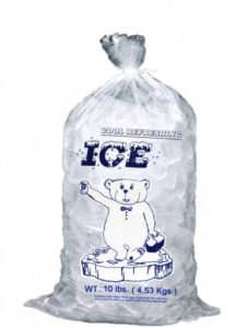 Get a Bag of Purified Ice