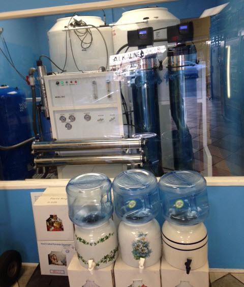 Reverse Osmosis Water Machine In Alka Pure Water NJ